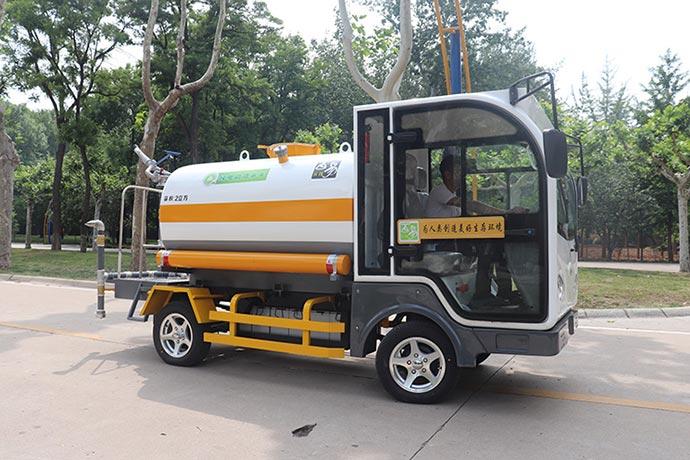 纯电动洒水车