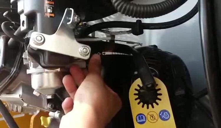 高压清洗车化油器开关