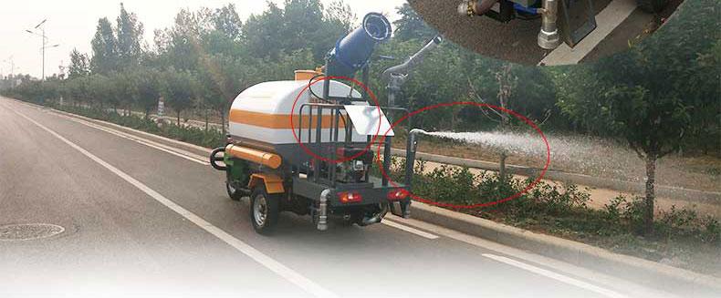 三轮洒水车BY-X15产品图片