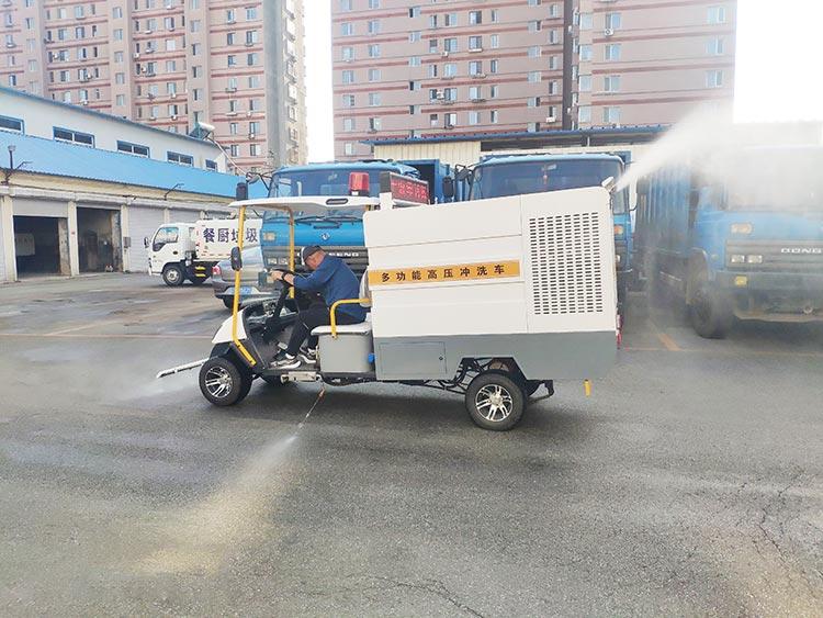 百易高压冲洗车BY-C10喷雾抑尘功能
