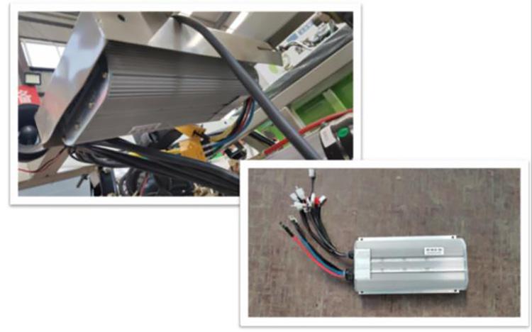 小型多功能高压冲洗车控制器