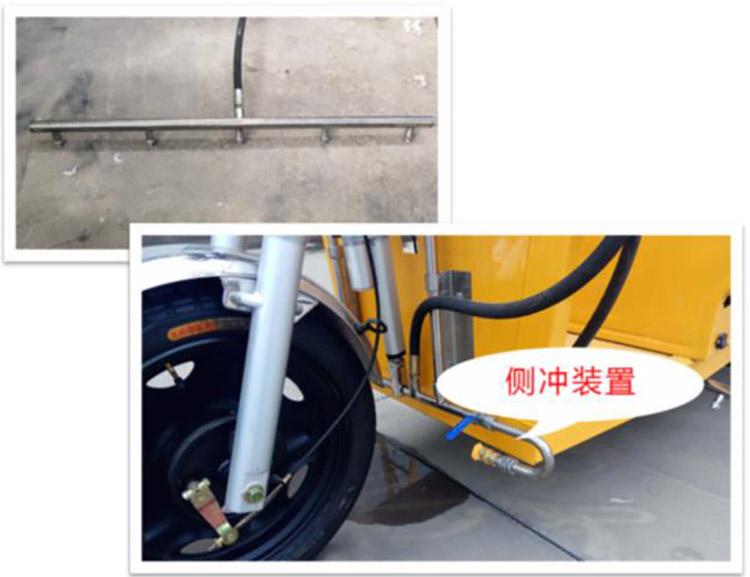 小型高压冲洗车侧冲装置