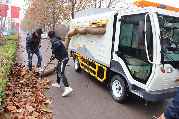 大型树叶清扫车