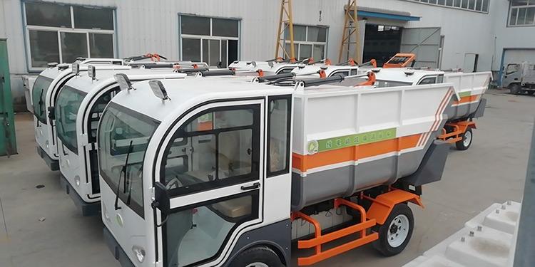 百易纯电动垃圾清运车