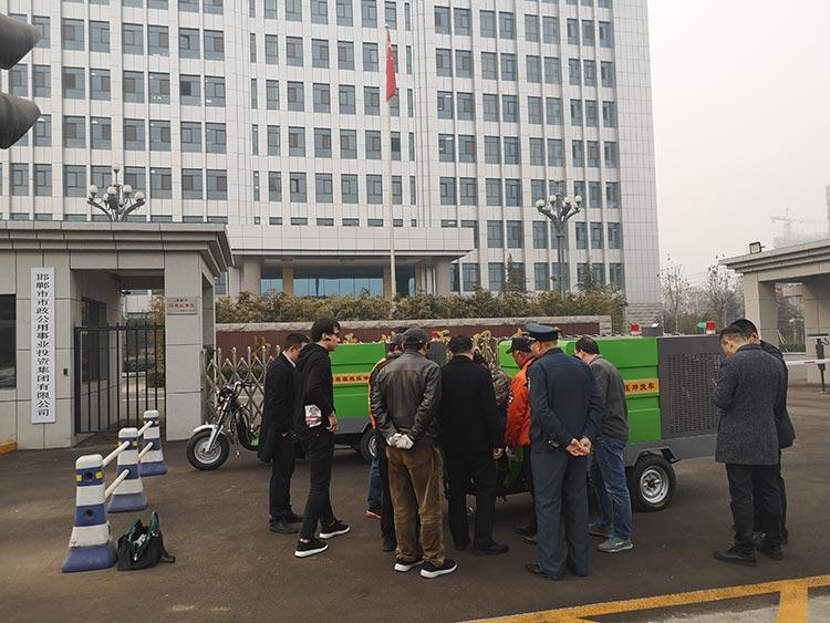 邯郸市政购置百易高温高压冲洗车