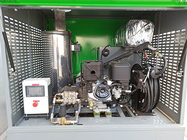 多功能高温高压清洗车产品图片