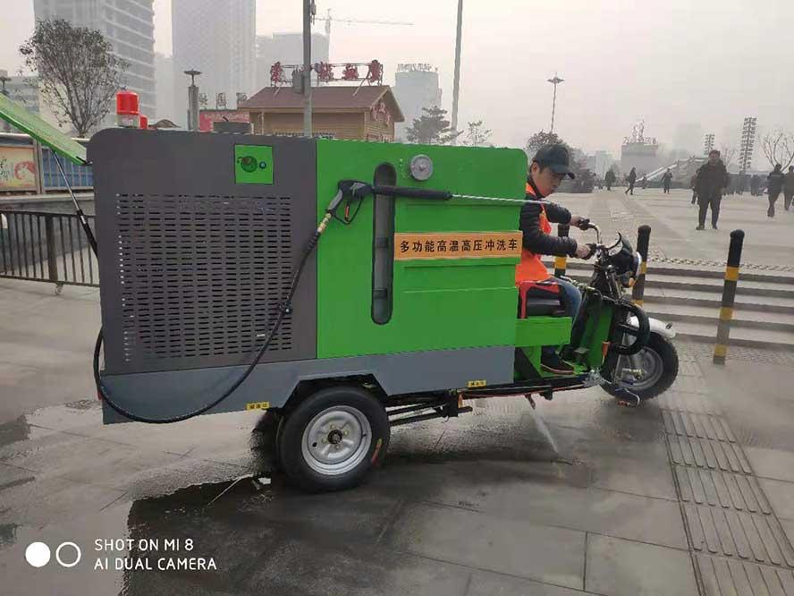新款高温高压冲洗车