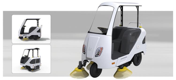 百易新款电动扫地车