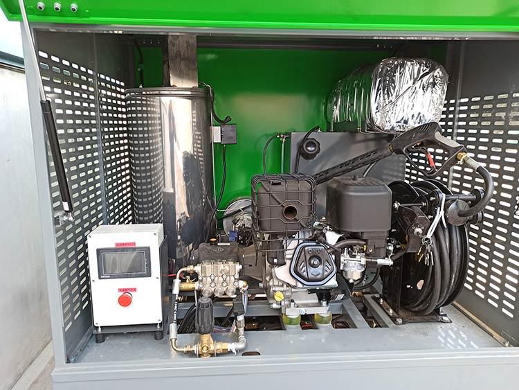 百易高温高压冲洗车主要配置