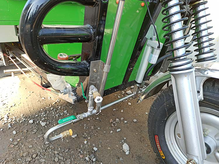 百易高温高压清洗车冲洗装置