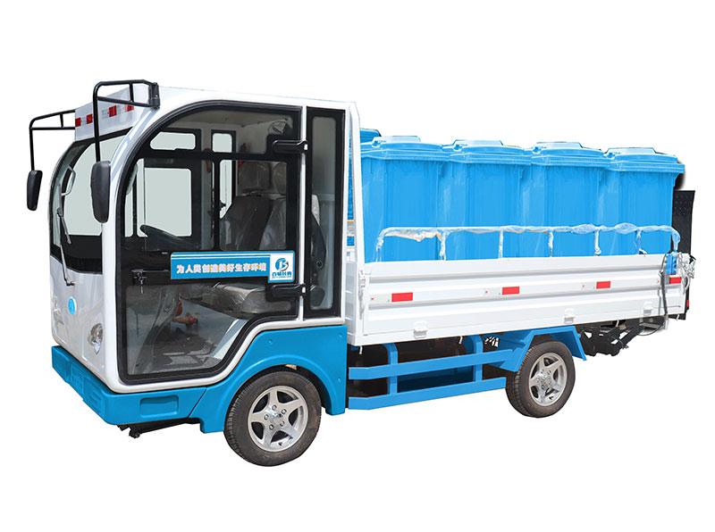 可回收物八桶垃圾分类清运车