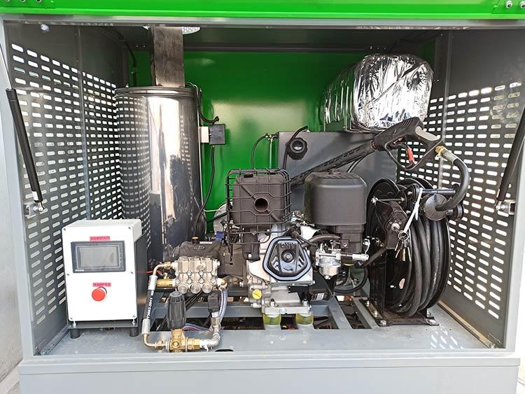 百易高温高压冲洗车配置图片