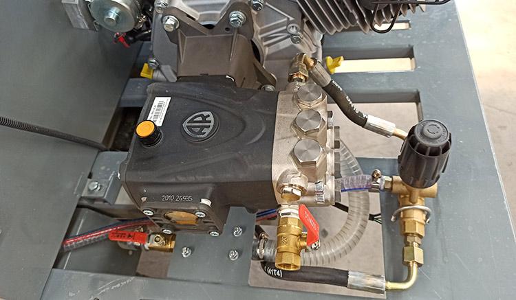 百易小型高压清洗车配置AR高压泵