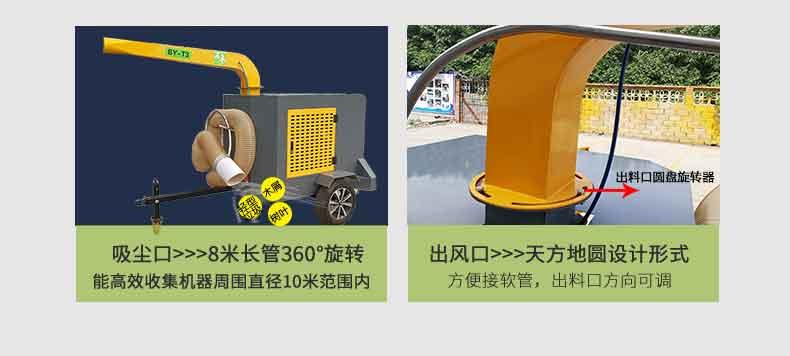 吸叶机,吸树叶机器,大面积吸树叶的机器,落叶清扫机,落叶收集器