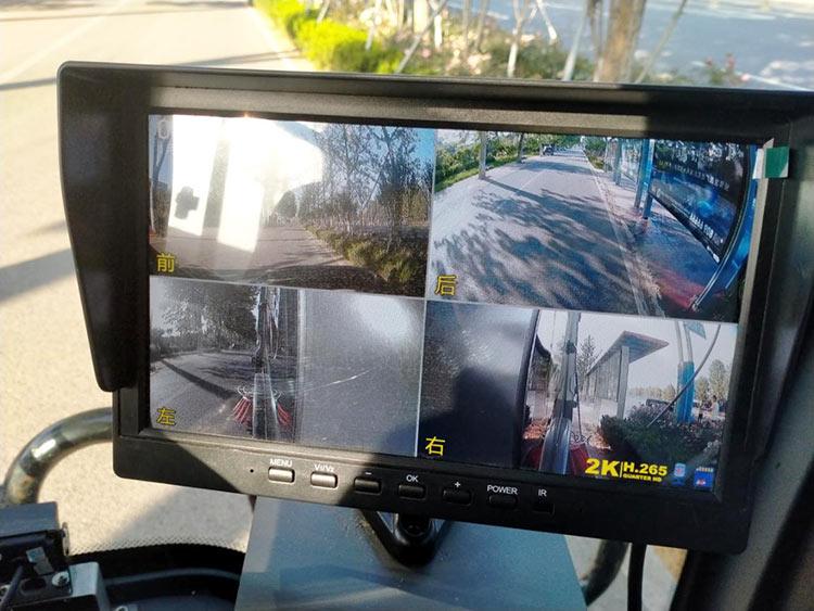 道路吸尘清扫车360度可视化操作