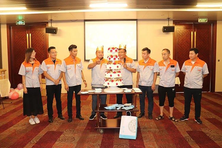 百易五周年生日蛋糕