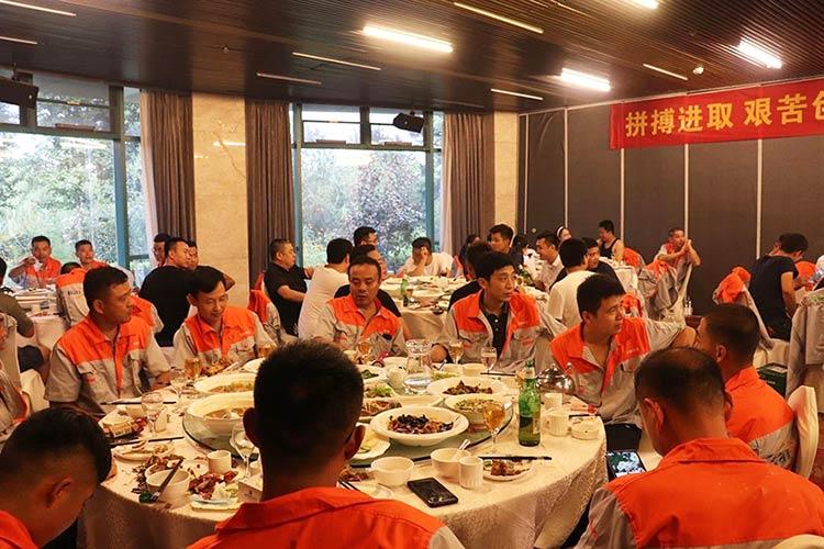 济南百易五周年庆祝晚宴