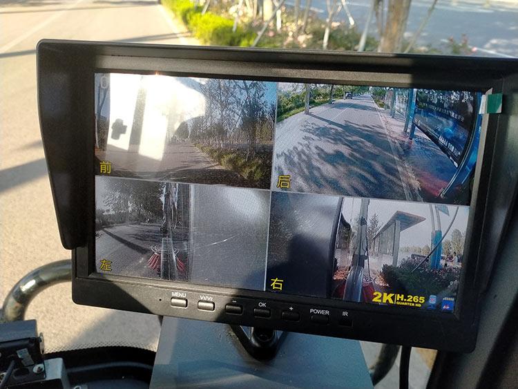 道路清扫车360度可视化操作