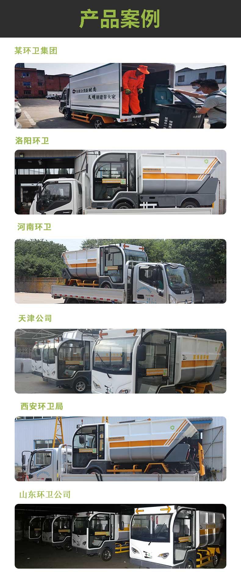 百易长青垃圾清运车客户案例