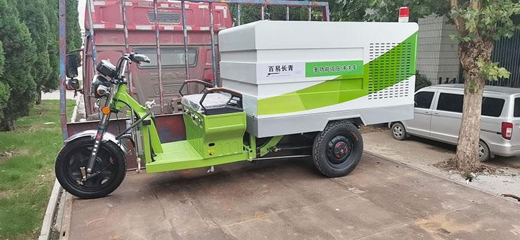 500L纯电动高压冲洗车