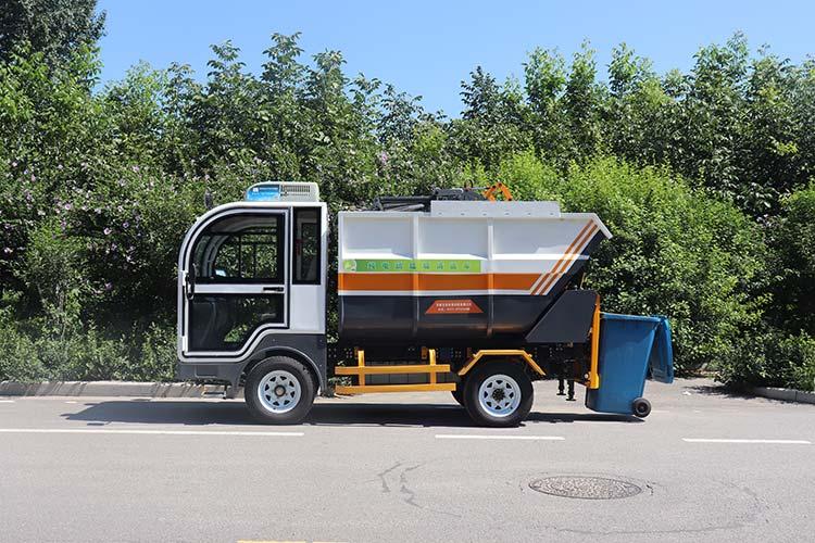 纯电动垃圾清运车图片
