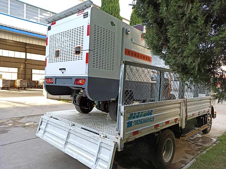 亚伯兰购置四轮多功能高压冲洗车