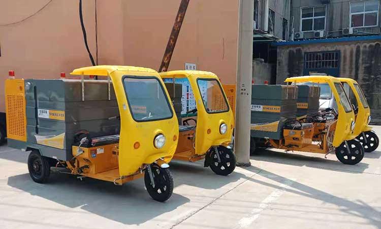 小型多功能高压清洗车产品图片