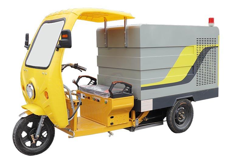 电动三轮高压清洗车产品图片