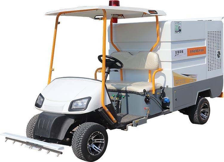 多功能电动四轮高压清洗车产品图片